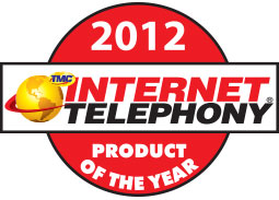 Internet Telephony Product of the Year Award 2012