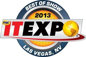 ITEXPO Las Vegas Best of Show Award