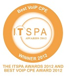 ITSPA's Best VoIP Customer Premises Equipment award
